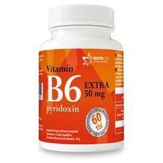 NUTRICIUS Vitamín B6 EXTRA - pyridoxin 50 mg 60 tablet