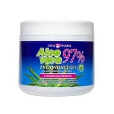 Vivapharm Aloe Vera upokojujúci gél s 97% aloe v doze 600 ml