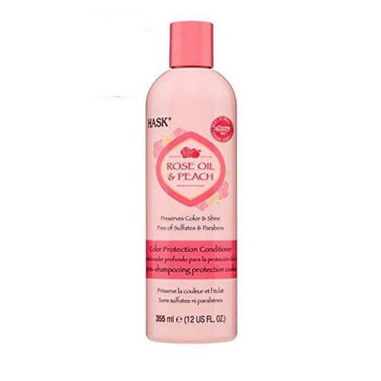 Hask Kondicionér pro barvené vlasy - růž.olej-broskev 355 ml