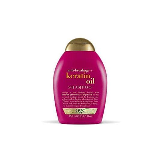 OGX Šampon proti lámání vlasů keratinový olej 385 ml