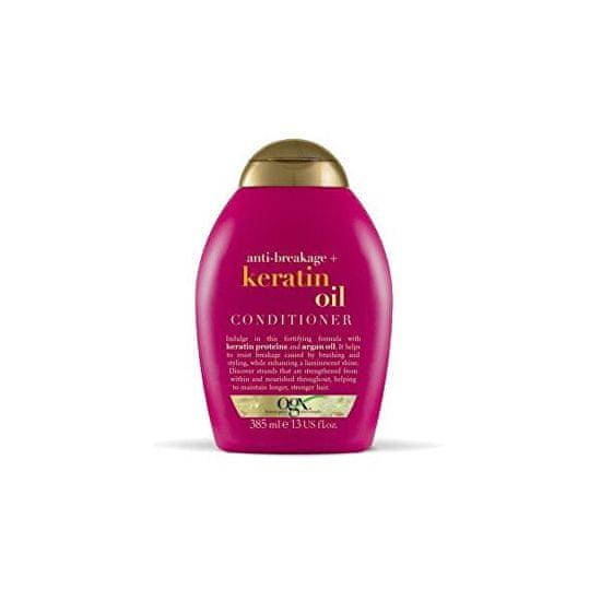 OGX Kondicioner proti lámání vlasů keratinový olej 385 ml