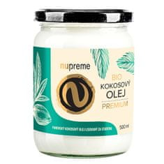 Nupreme Kokosový olej 500 ml BIO