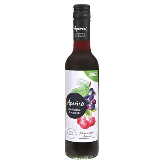 Salus BIO Aperino Čierne ríbezle Acerola - Bylinný aperitív bez alkoholu 375 ml
