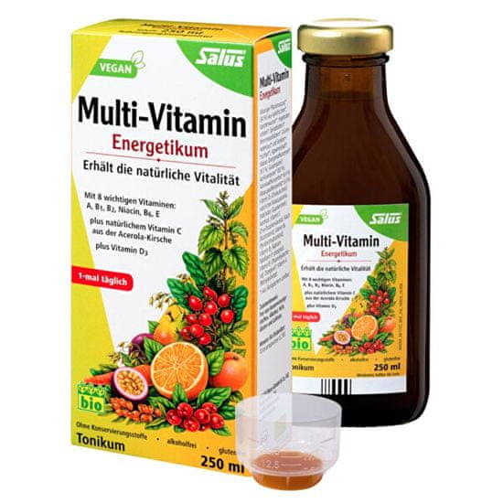Salus Bylinné tonikum Epresat® Multivitamín Energeticum 250 ml