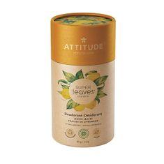 Attitude Prírodné tuhý deodorant SUPER LEAVES - citrusové listy 85 g