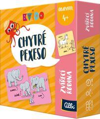 Albi Kvído - Chytré pexeso - zvířecí rodina