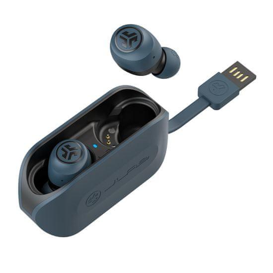 Jlab GO Air True Wireless slušalke, mornarsko modre- Odprta embalaža