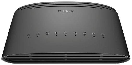 D-Link stikalo (switch) 8 portno (DGS-1008D)