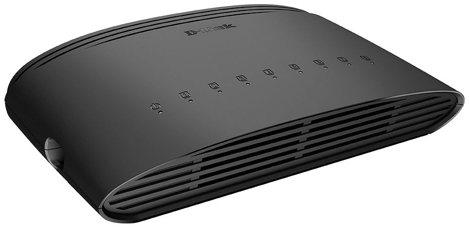 D-Link Switch 8-Port Gigabit Ethernet (DGS-1008D)