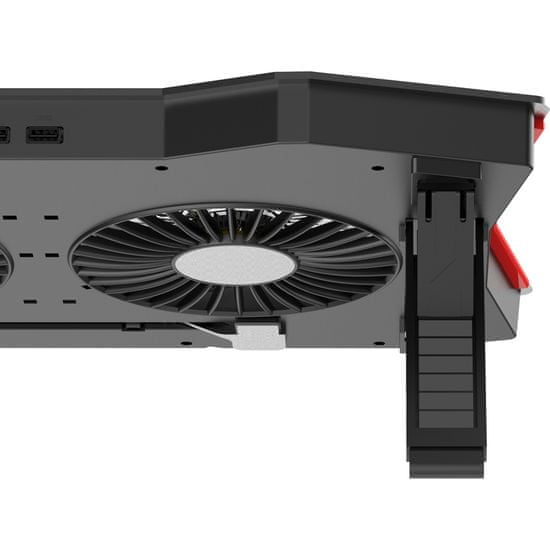 Yenkee YSN 310 Chladiaca RGB podložka UFO