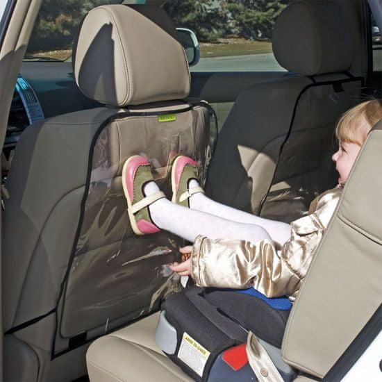 M.N.C. 2x PVC zaščita pred umazanijo za hrbtno stran sedeža prozorna