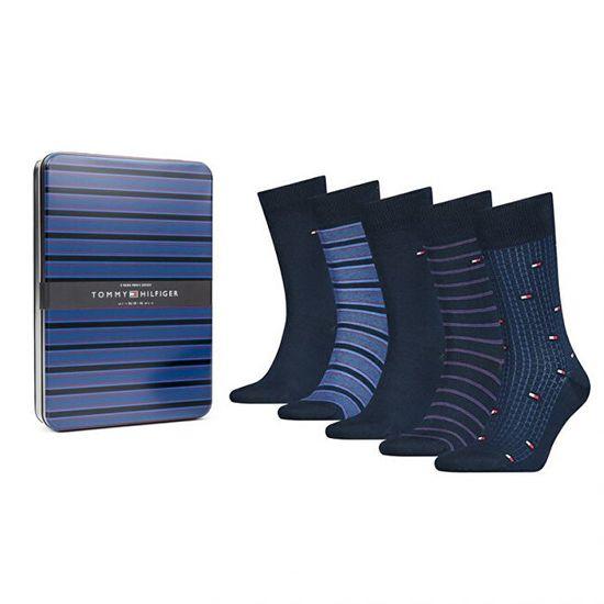 Tommy Hilfiger 5 PAKET - moške nogavice 100000847-002
