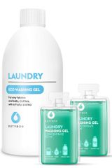 Dutybox Sada Gel na praní Ovocná svěžest 100ml + plnící láhev