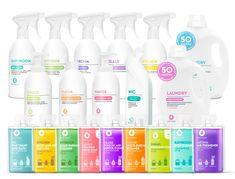 Dutybox Kompletní balíček čistících prostředků 2900 ml + plnící láhve.