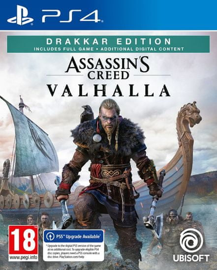 Ubisoft Assassin's Creed Valhalla - Drakkar Special Day 1 Edition igra (PS4)