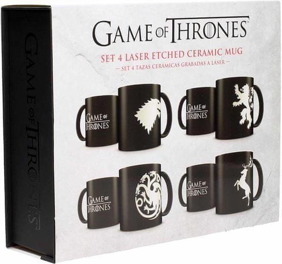 Game of Thrones bögre - Emblémák Emblems (4db-os bögre szett)