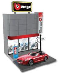 BBurago 1:43 Bburago city, Car Dealer avtomobilski salon