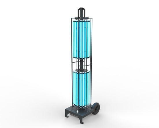 disinfection-system Stojací dezinfekční UVC zářič 360° mobilní, 576W