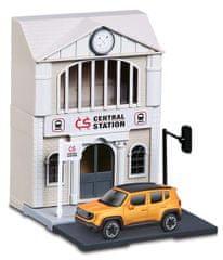 BBurago 1:43 Bburago city, Train Station železniška postaja