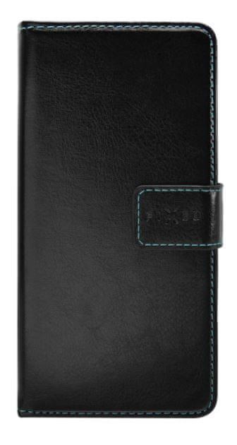 FIXED Pouzdro typu kniha Opus pro Honor 9X Pro, černé FIXOP-438-BK