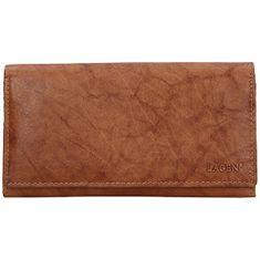 Lagen Dámská kožená peněženka V-13 CGN