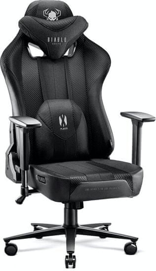 Diablo Chairs X-Player 2.0, černá (5902560337747)