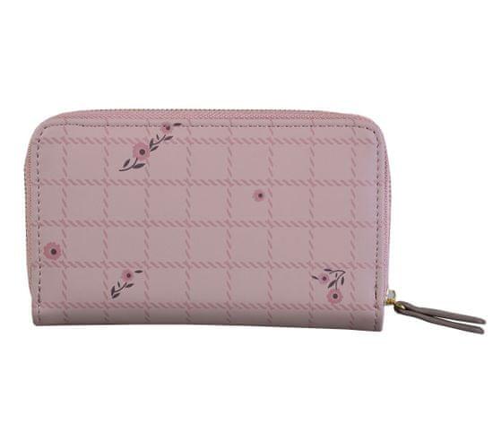 Aaryans Dámská peněženka PT19-1405 růžová