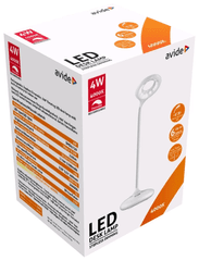 Avide LED namizna svetilka and USB - akumulatorska and 4W and nevtralno bela 4000K