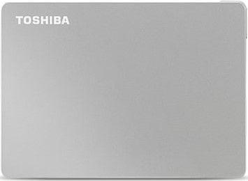 TOSHIBA Canvio Flex 1TB, stříbrná (HDTX110ESCAA)