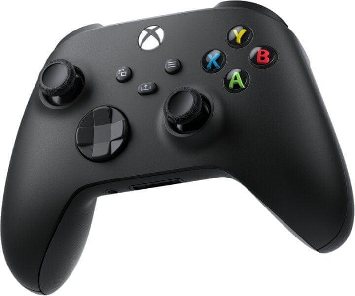 Microsoft Xbox Wireless Controller + kabel pro Windows, černá (1V8-00002) - rozbaleno