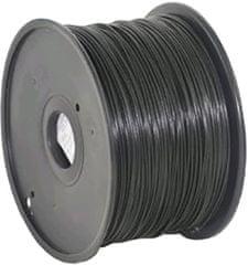 Gembird tisková struna, ABS, 1,75mm, 1kg, černá (3DP-ABS1.75-01-BK)