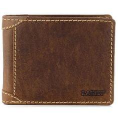 Lagen Moška usnjena denarnica 511462 TAN
