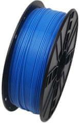 Gembird tisková struna, ABS, 1,75mm, 1kg, fluorescentní modrá (3DP-ABS1.75-01-FB)