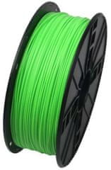 Gembird tisková struna, ABS, 1,75mm, 1kg, fluorescentní zelená (3DP-ABS1.75-01-FG)