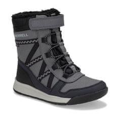 Merrell otroški čevlji Snow Crush 2.0 Waterproof Kids MK263125, 38, sivi