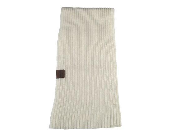 ORSI Zimní šála dětská pletená 18x115 béžová