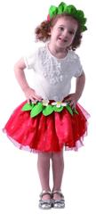MaDe kostium karnawałowy - truskawka 80-92