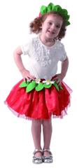 MaDe kostium karnawałowy - truskawka 92-104