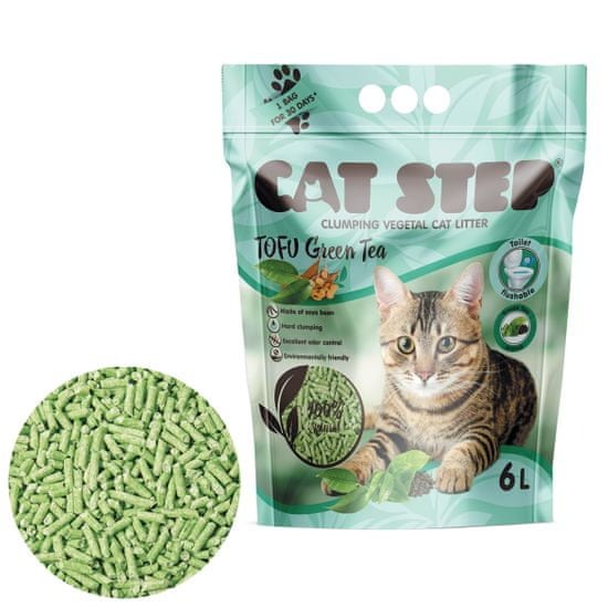 CAT STEP Togu Green Tea 2,7 kg