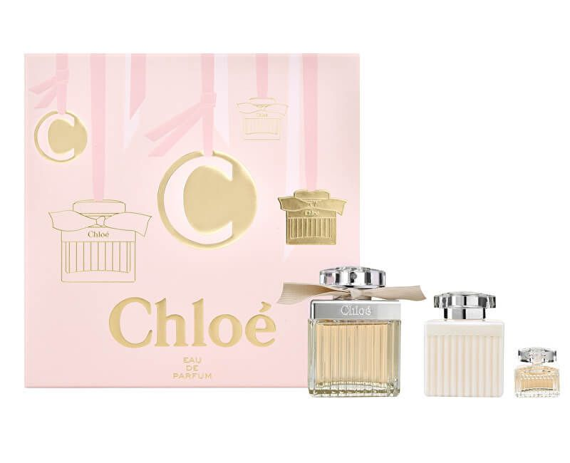 Chloé Chloé - EDP 75 ml + EDP 5 ml + tělové mléko 100 ml
