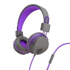 Jlab JBuddies Studio Folding Kids slušalke, sivo-vijolične