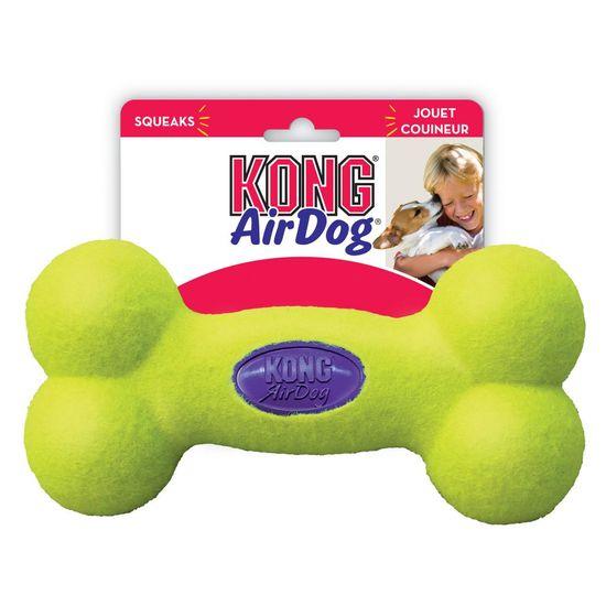 KONG AirDog igrača za pse, kost, S, rumena