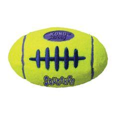 KONG AirDog Squeaker igrača za pse, žoga, M, rumena