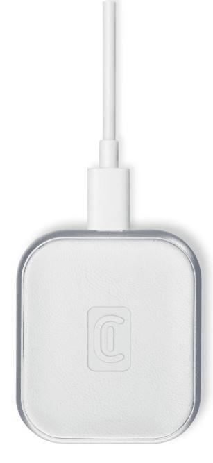 CellularLine Bezdrátová nabíječka Power Base pro Apple Airpods/Airpods Pro, bílá AIRPODWIRBASEW