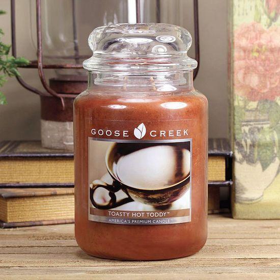Goose Creek vonná svíčka Toasty Hot Toddy (Horký grog) 680 g
