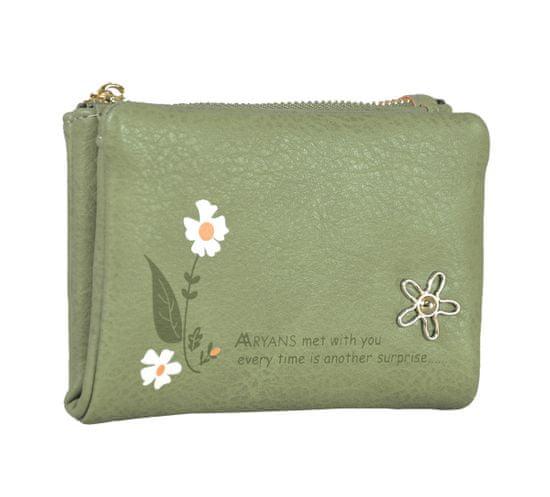 Aaryans Dámská peněženka PT19-1384 zelená