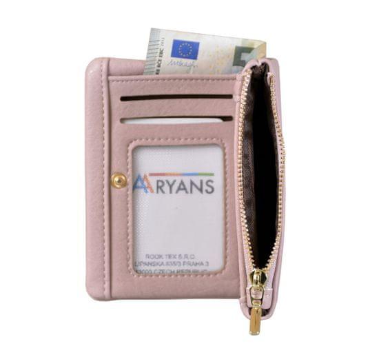 Aaryans Dámská peněženka PT19-1384 růžová