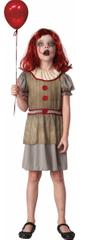 MaDe kostium karnawałowy - straszny klaun 110-122