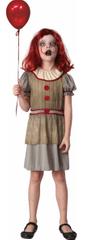 MaDe kostium karnawałowy - straszny klaun 120-130