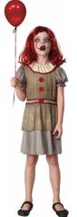 MaDe kostium karnawałowy - straszny klaun 134-140